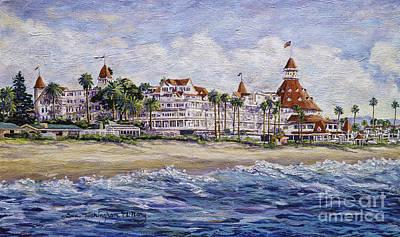 Hotel Del Beach Poster