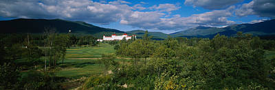 Hotel In The Forest, Mount Washington Poster by Panoramic Images