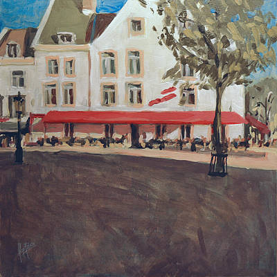 Hotel La Colombe Early Autumn Poster