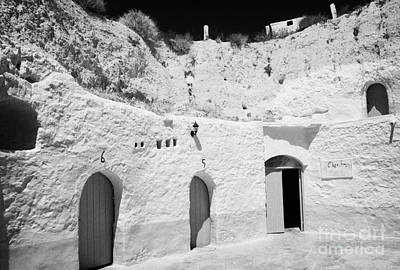 hotel room cave accomodation Sidi Driss Hotel underground at Matmata Tunisia scene of Star Wars films Poster