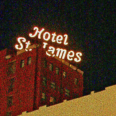 Hotel - St James San Diego Poster