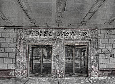 Poster featuring the photograph Hotel Statler Buffalo Ny by Jim Lepard