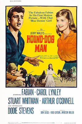 Hound-dog Man, Us Poster Art, Top Poster by Everett