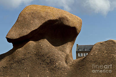 House In The Rocks Poster by Heiko Koehrer-Wagner