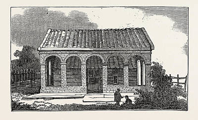 House Of Peter The Great, At Saardam Or Zaandam Poster by Dutch School