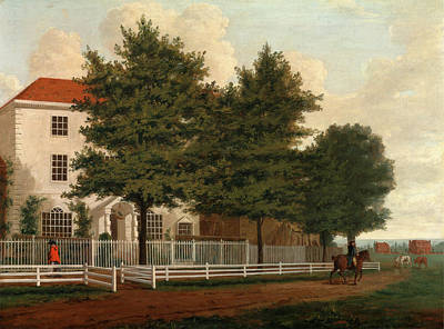 House On A Common Georgian House On A Common Poster