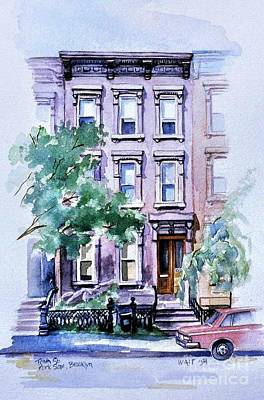 House On Tenth Street Poster