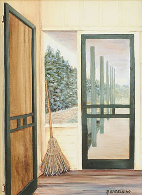 House Swept Poster by Rachel Engelking