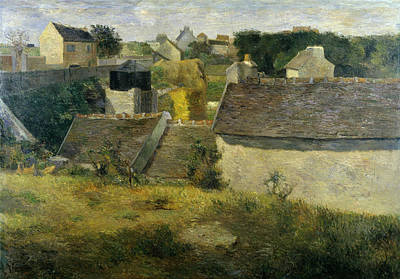 Houses At Vaugirard, 1880 Poster by Paul Gauguin