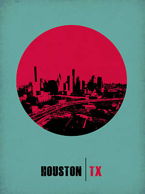 Houston Circle Poster 2 Poster