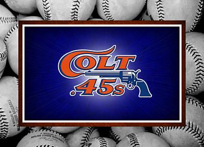 Houston Colt 45's Poster by Joe Hamilton