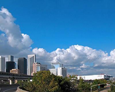Houston Skyline Southeast Poster