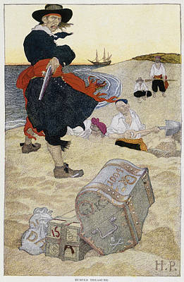 Howard Pyle Pirate Poster
