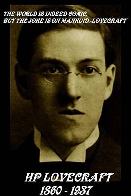 Hp Lovecraft Poster by Jack Joya