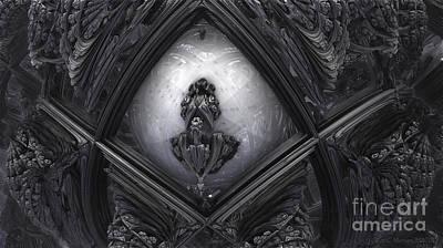 Hr Giger In Memorium Poster