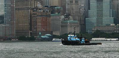 Hudson River Tug Poster