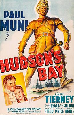 Hudsons Bay, From Left, John Sutton Poster by Everett