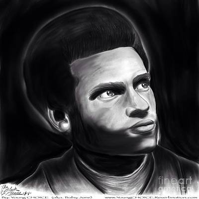 Huey P. Newton Of The Black Panther Party Poster by Young CHOICE