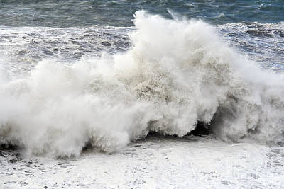 Huge Wave Poster by Antonio Scarpi