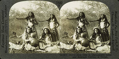 Hula Dancers, C1905 Poster by Granger