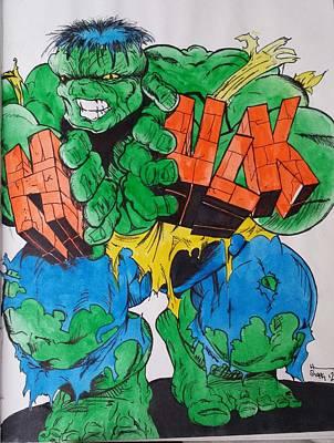 Hulk Poster by DMo Herr
