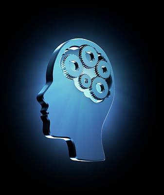 Human Intelligence Poster by Andrzej Wojcicki