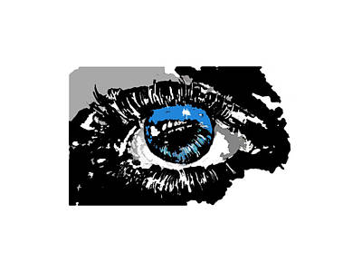 Human Right Eye Poster