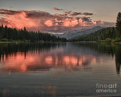 Hume Lake Sunset Poster