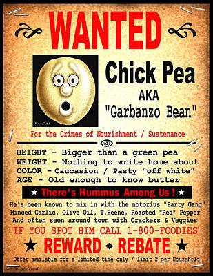 Hummus Among Us Poster