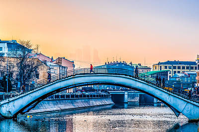 Humpback Bridge Poster by Alexander Senin