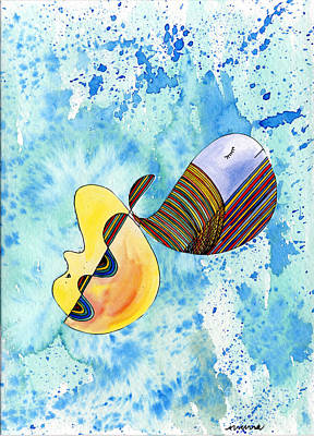 Humpback Whale In Harmony Poster