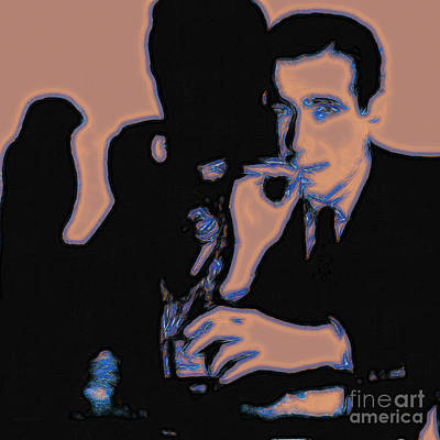 Humphrey Bogart And The Maltese Falcon 20130323m88 Square Poster by Wingsdomain Art and Photography