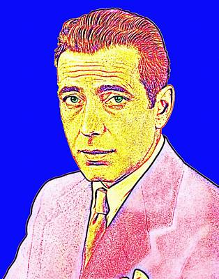 Humphrey Bogart Poster by Art Cinema Gallery