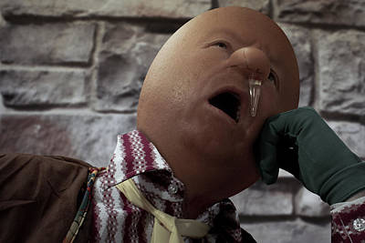 Humpty Dumpty Had A Great Cold Poster