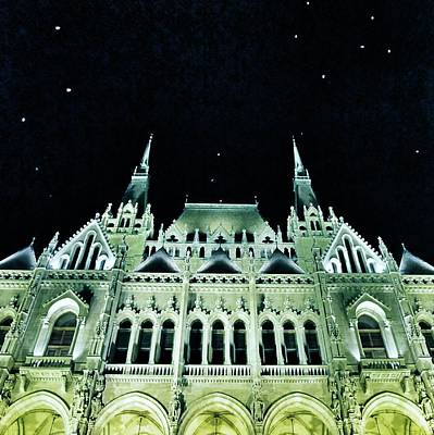 Hungarian Parliament Building - Budapest Poster