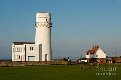 Hunstanton Lighthouse Norfolk Uk Poster by John Edwards