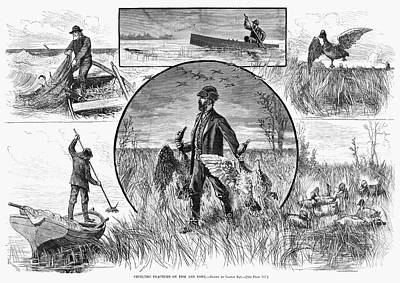 Hunting Cruelty, 1880 Poster by Granger