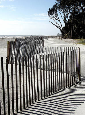 Poster featuring the photograph Hunting Island - 6 by Ellen Tully