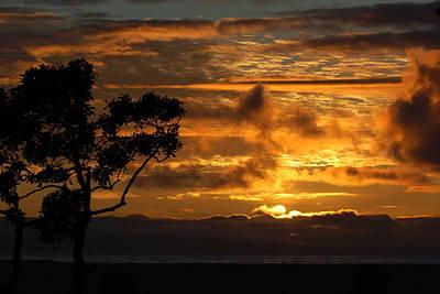 Poster featuring the photograph Huntington Beach Sunset by Matt Harang