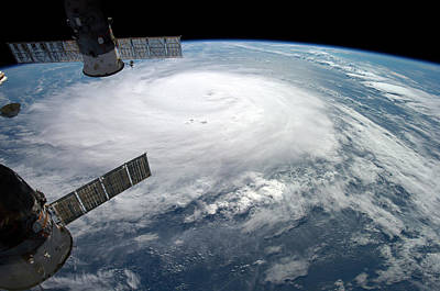 Hurricane Gonzalo Poster by Nasa