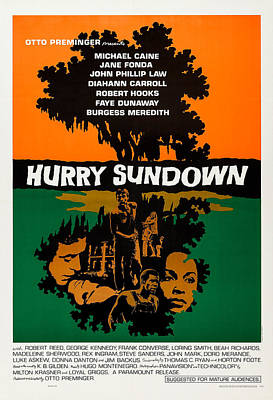 Hurry Sundown, Us Poster Art, Michael Poster by Everett