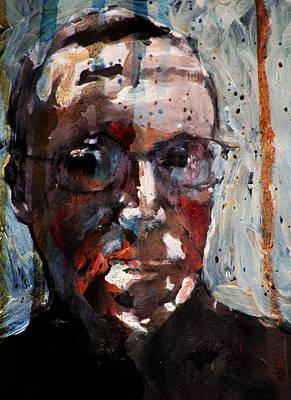Husdant Portrait Poster by Jim Vance