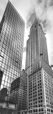 Hyatt And Chrysler Poster by David Bearden