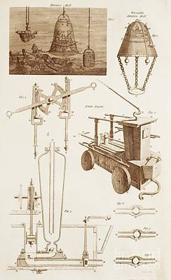 Hydraulics And Hydrostatics Poster by David Parker