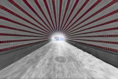 Hypnotic Playmates Arch Poster by Susan Candelario