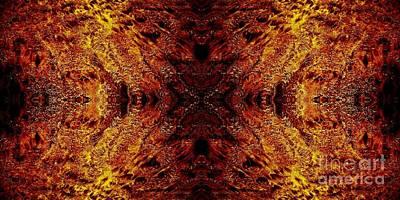 Hypnotic Sand Poster