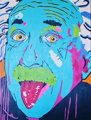 I Am Einstein  Poster by Caesaray Starbuck