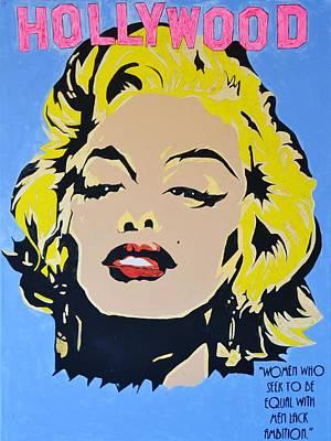 I Am Marilyn Poster by Caesaray Starbuck