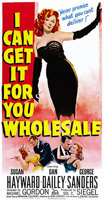 I Can Get It For You Wholesale, Top Poster by Everett