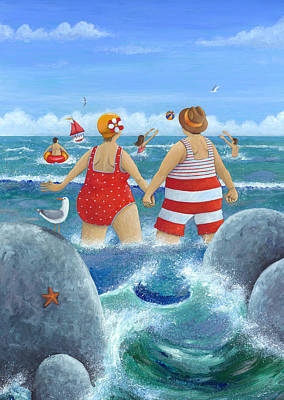 I Do Like To Be Beside The Seaside Poster by Peter Adderley